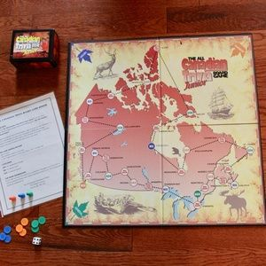 The All-Canadian Trivia JUNIOR Board Game